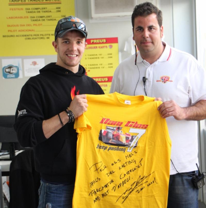 Dani Clos a Karting Parcmotor